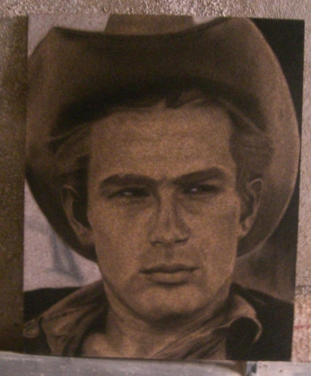 James Dean by DOM